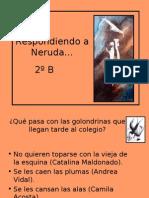 Respondiendo a Neruda 2ºB