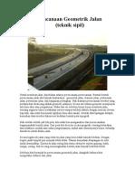 Perencanaan Geometrik Jalan