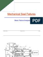 Mechanical Seal Failures