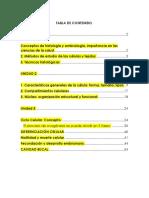 Ordinario Histología y Embriología