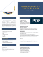 CV Roberto Thomé Da Conceição Rocha