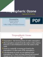 Tropospheric Ozone