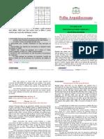 Folha arquidiocesana n. 12-1