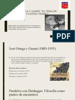 3° Medio Filosofía política - ORTEGA Y GASSET