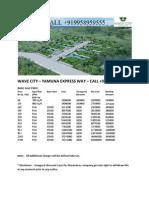 Wave City Yamuna Expressway Call 9958959555