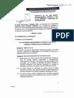 Proyecto de Ley  147/2021-CR