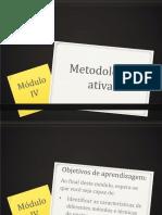 Módulo 4 - Metodologias ativas