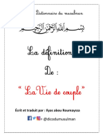 Vie de Couple