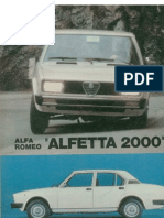 Alfa Romeo Alfetta 2000