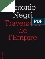 Traversées de l'Empire, de Antonio Negri