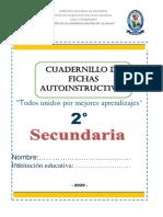 CUADERNILLO DE 2° GRADO DE SECUNDARIA-IMPRESION