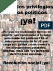 Políticos 4 Vacaciones