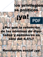 Políticos 3 Retenciones