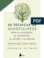 50 técnicas Mindfulnes