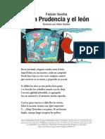 Fabián Sevilla-DOÑIA PRUDENCIA Y EL LEÓN