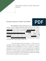 Petição no Inquérito Administrativo do TSE financiamento de atos bolsonaristas