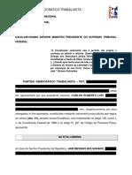 PDT - Notícia-crime contra Bolsonaro por atos de 7 de setembro