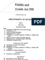Wildlife and Countryside Act 1981