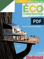 catalogue éco construction 2011