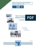 Rapport Banque Mondiale Trsp Maritime Afrique SSATPWP84-final_fr