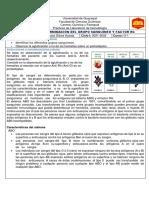 DETERMINACIÓN DEL GRUPO SANGUINEO Y FACTOR Rh
