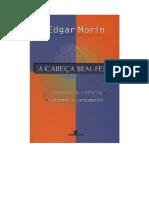 MORIN, Edgar (2003) a Cabeça Bem Feita