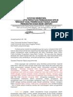 Pandangan Awal Fraksi PPP Terhadap Pengusutan Kasus Bank Century 8 Feb 2010