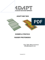 Radier Protendido - ADAPT MAT