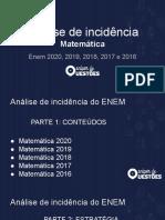 Ana Lise Matema Tica ENEM 2020