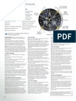 Citizen Eco-Drive C650-651 Condensed Setting Instructions