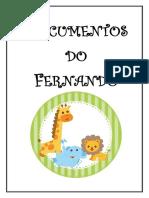Documentos do Fernando