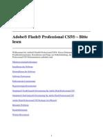 Flash Professional CS5 - Bitte Lesen