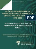 GUIA SIREL 2021