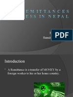 REMITTANCE BUSINESS IN NEPAL