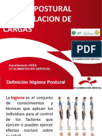 Capacitación  Higiene postural y MMC - UT