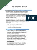 MODELOS DE PROTOCOLOS OSI Y TCP