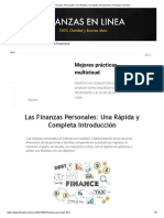 Las Finanzas Personales_ Una Rápida y Completa Introducción _ Finanzas en Linea