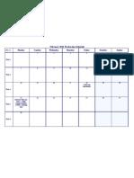 Feb Production Schedule