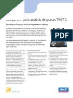 Analisador de grasa TKGT1_ES