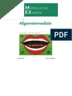 MEX Das Mündliche Examen - Allgemeinmedizin (MEX - Mündliches EXamen) by Thomas Brandhuber, Peter Wapler, Reinhold Klein (Z-lib.org)