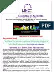 Newsletter 6th April 2011