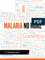 Malaria No More Stakeholder Report 2010