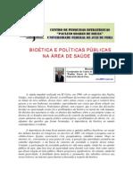 Bioética e políticas públicas na área de saúde - Ricardo Velez Rodriguez