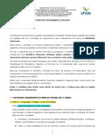 CONTEUDO PROGRAMATICO SASI 2020 1a e 2a ETAPAS