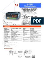 weight indicator_pt650d