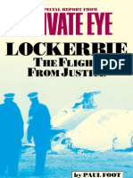 Lockerbie - The Flight From Justice - Paul Foot - Private Eye Special Report