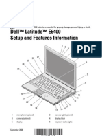 Dell Latitude E6400 Manual Guide