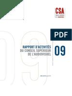 CSA_2009_rapport_activit_s
