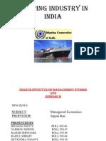 Shipping-Industry-Ppt vaibhav