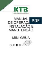 Manual - Mini Grua 500 Ktb